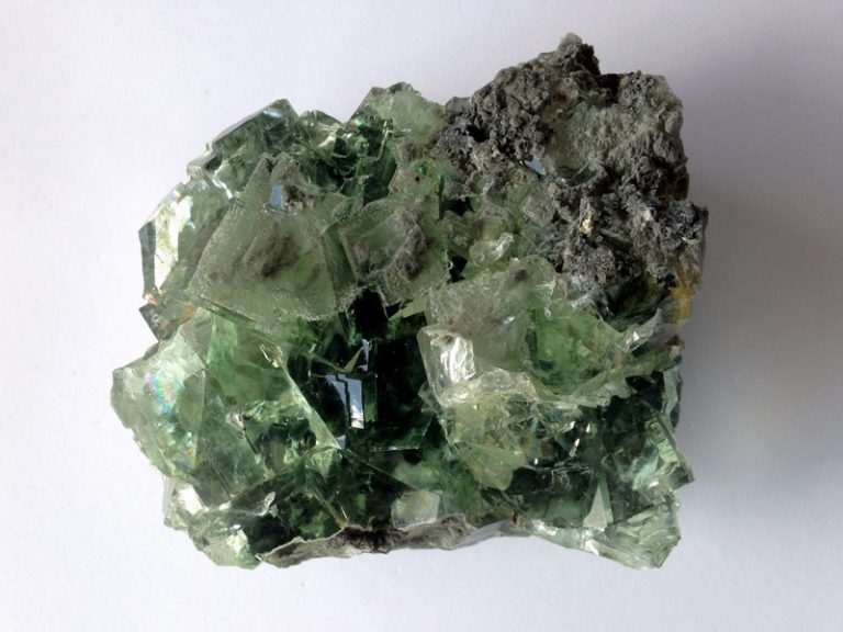 Green Fluorite Cluster - Crystal Academy of Advanced Healing Arts